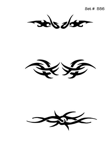 Screenface Tribal Tattoo Body Art Stencils
