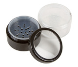 Black Powder Jar With Sifter