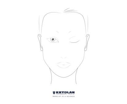 Kryolan Professional Make Up Chart