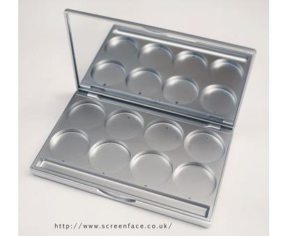 Kryolan Empty Silver Palette
